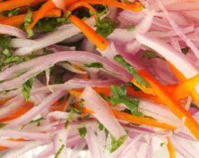 Salsa criolla – Receta y preparación
