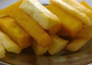 Yucas fritas al ajo y tomillo – receta