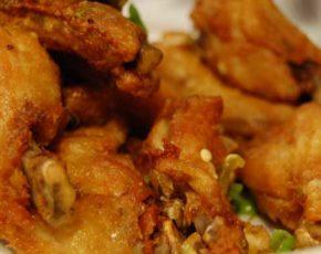Receta alas de pollo en salsa de hierbabuena