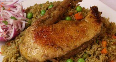 Receta de arroz con pato e Historia