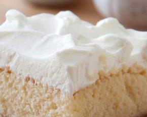 Receta de tarta de tres leches